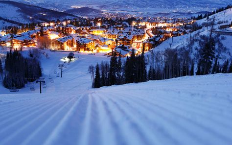 Deer Valley, Utah.  The best in skiing for a family. Super-groomed slopes and no snowboards!!!