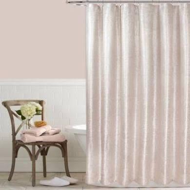Celina 72 X 72 Metallic Shower Curtain In Pink Relaxing