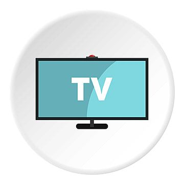 Television Icon Circle Circle Icons Television Icons Isolated Png And Vector With Transparent Background For Free Download In 2021 Icon Camera Logo Circle