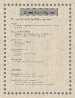guide to starting an event planning business