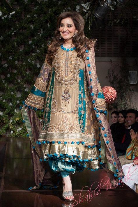 Pakistani Designer Saadia Mirza's -The Nur ul Aine Bridal Wear Collection 2013