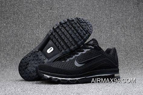 Men Nike Air Max 360 Running Shoes KPU SKU:62965 206 2019 Online