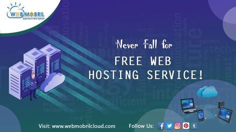 Never Fall for Free Web Hosting Service! - Host your website with Unlimited Web Hosting plan. Dont need to worry about overusing the cpu or ram. #unlimitedwebhosting #webhosting -