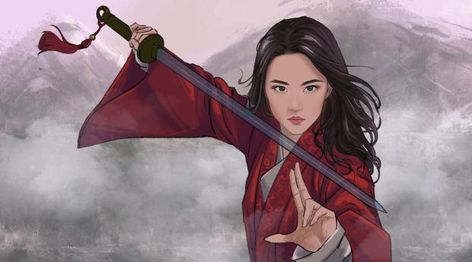 1920x1080 New Mulan Fan Art 1080P Laptop Full HD Wallpaper, HD Movies 4K Wallpapers, Images, Photos and Background - Wallpapers Den