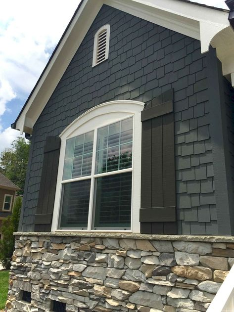 lp siding Exterior Craftsman with engineered wood fascia Louisiana