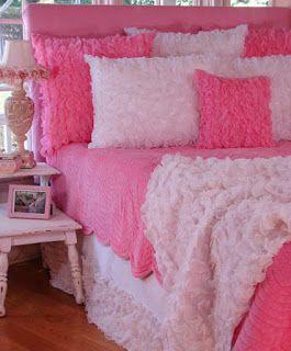 اروع موديلات مفارش غرف نوم البنات Pink Bedding Pink Room Childrens Beds