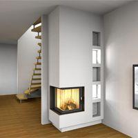 Kamine Hamburg peninsula gas fireplace home design thoughts gas