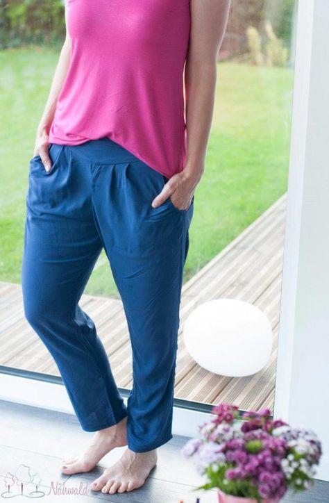 AVA ist ein schnell genähter Schnitt für eine schicke, hüftig sitzende Chino-Hose mit einer raffinierten Taschenlösung, die in zwei Schnittvarianten genäht werden kann: einmal als bequeme Jerseyversion, zum anderen aus leichtem Gewebe/...