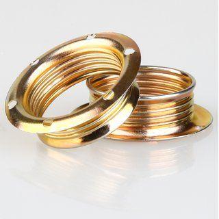 E14 Schraubringe Metall Vermessingt 40x12 5mm Fur Metallfassung Ringe Metall Fassung
