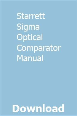 Micro-vu spectra 14 optical comparator manual for models m101.