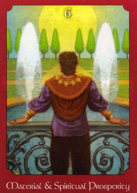 material and spiritual prosperity psychic tarot  tarot