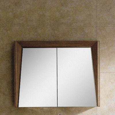 Emerson Surface Mount Framed Medicine Cabinet With 2 Shelves