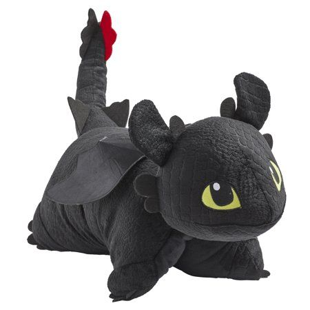11inch How to Train Your Dragon Toothless Night Fury plush slippers