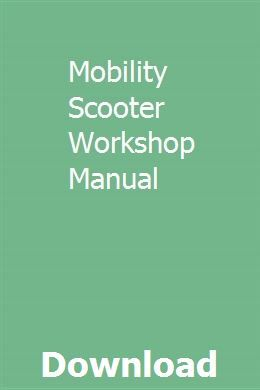 Mobility Scooter Workshop Manual Manual Workshop Subaru Tribeca
