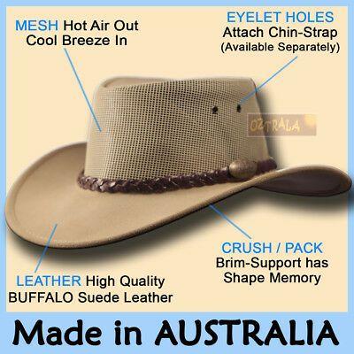 Oztrala Leather Breezer Hat Australian Cowboy Stetson Style Men S Golf Outback Ebay In 2021 Felt Cowboy Hats Hats For Men Cowboy Hats