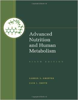 advanced nutrition and human metabolism 6th edition test bank free