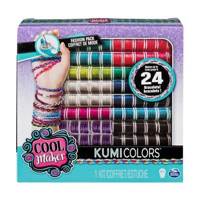 Cool Maker Kumicolors Fantasy And Neons Fashion Pack Activity Kit Activity Kits Cool Stuff Craft Accessories