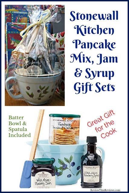 Stonewall Kitchen Pancake Mix Maine Syrups Gift Set Reviewed Stonewall Kitchen Pancake Mix Stonewall Kitchen Waffle Mix