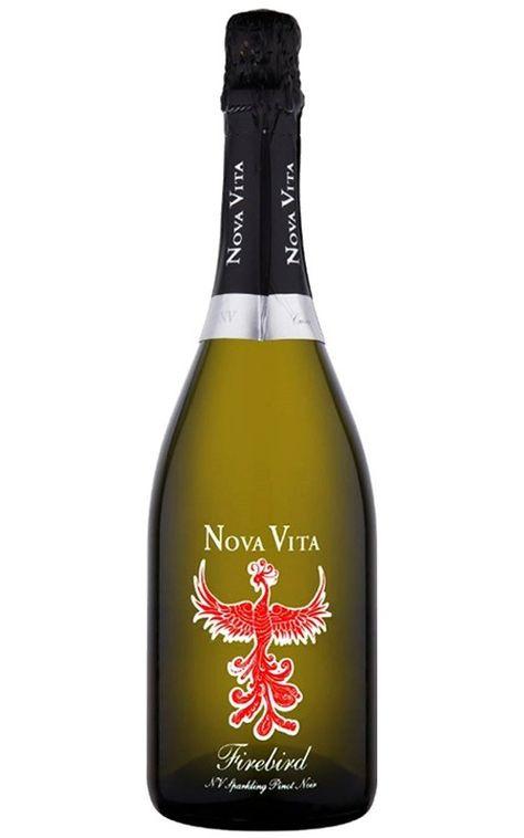 Nova Vita Firebird Sparkling Pinot Noir Rose Nv Adelaide Hills 6 Bottles Pinot Noir Pinot Italian Wine