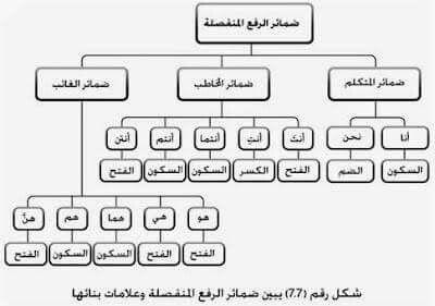ضمائر الرفع المنفصلة Arabic Langauge Arabic Language Learning Arabic