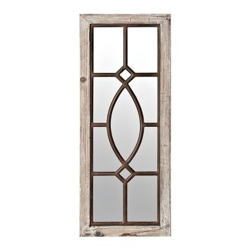 White Distressed Panel Wall Mirror Wall Paneling Mirror Wall Mirror Wall Bathroom