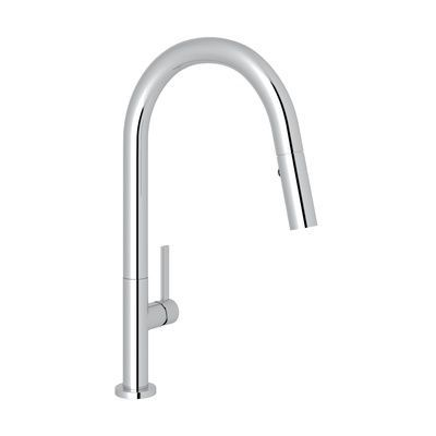 Rohl Kitchen Faucets Modern Lux Pull Down Kitchen Faucet