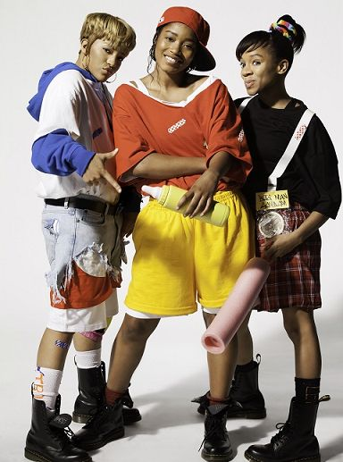 Seeing Double? Lil Mama, Keke Palmer, And Drew Sidora Look Just Like TLC In New Biopic Pics Read more at http://madamenoire.com/275473/seeing-double-lil-mama-keke-palmer-and-drew-sidora-look-just-like-tlc-in-new-biopic-pics/#1TWAy97m2Lsxbywj.99