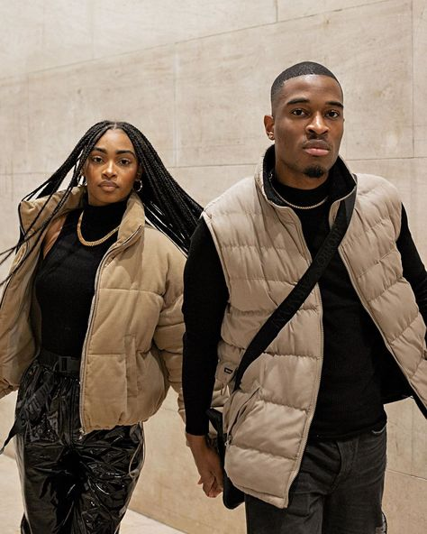 Cute Black Couples, Black Couples Goals, Cute Couples Goals, Couple Goals, Black Relationship Goals, Couple Relationship, Cute Relationships, Mode Ootd, Matching Couple Outfits