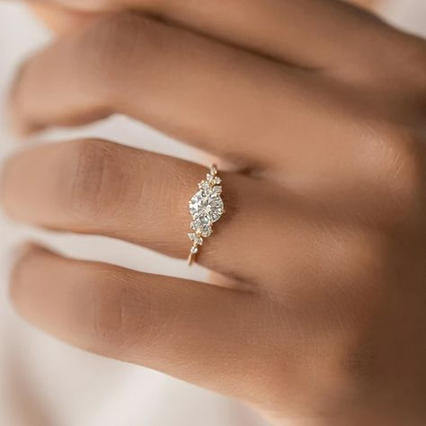Engagement Ring Collection | Melanie Casey Fine Jewelry Necklace Chain Lengths, Necklace Sizes, Bracelet Sizes, Cushion Cut Diamonds, Round Diamonds, White Diamonds, Dream Engagement Rings, Engagement Rings White Gold, Delicate Engagement Ring