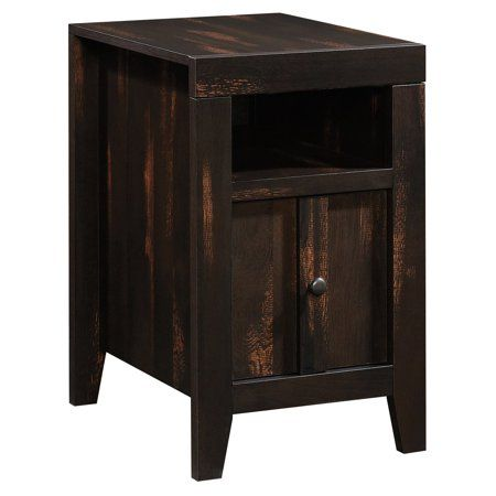 Home End Tables End Tables With Storage Rustic Side Table
