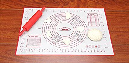 Baking Mat Kootips Premium Non Slip Silicone Pastry Mat Extra