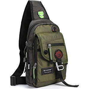caadbfe56f7b Nicgid Sling Bag Chest Shoulder Backpack Crossbody Bags For iPad ...