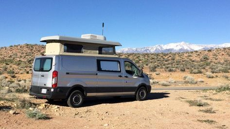 Modular Adventure Van Can Also Haul The Whole Family Ford Transit Camper Transit Camper Ford Transit