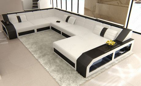 Led Furniture Leather Sectional Sofas Sofadreams Page 2 U Shaped Corner Sofa Sofa Design Leather Sectional Sofas
