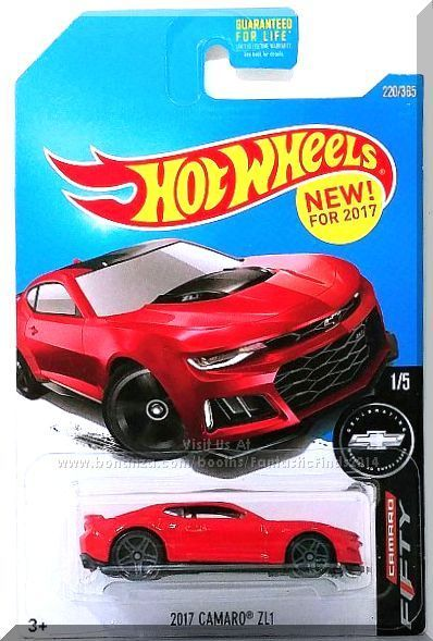 Hot Wheels 2017 Camaro Zl1 Camaro Fifty 1 5 2017 Red