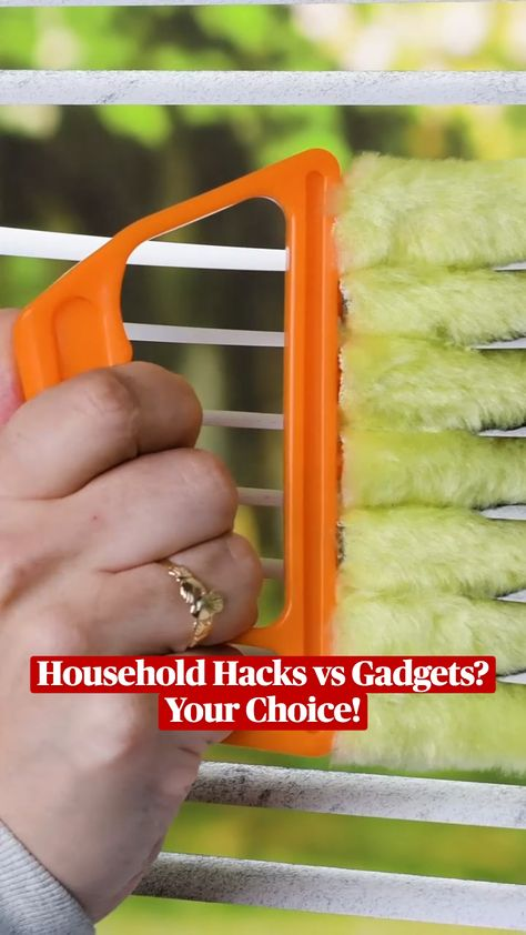 Household Hacks vs Gadgets?  Your Choice!