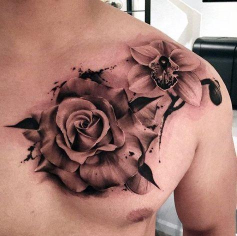 Tatuajes Para El Pecho De Hombre