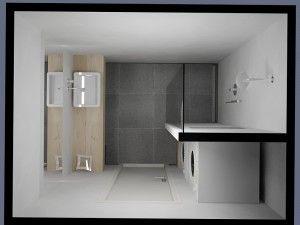 Kleine badkamer met wasmachine | Houses | Pinterest