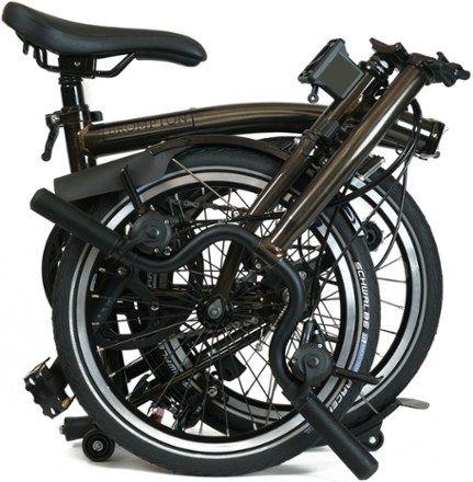 Brompton M6l Black Edition Folding Bike Sepeda