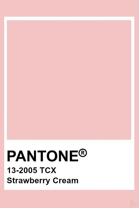 Pantone Strawberry Cream