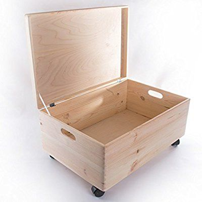 Extra Large Rectanqular Wooden Storage Box With Lid Wooden Chest With Handles Storage Trunk To Storage Boxes With Lids Wooden Storage Boxes Wooden Storage