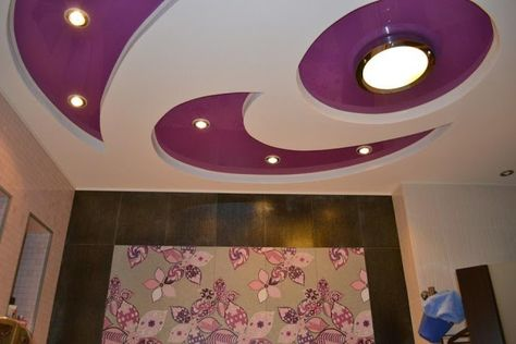 Pvc Stretched Ceiling Systems For Modern Living Room How To