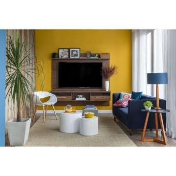 Painel Para Tv 60 Polegadas Toledo Ipe 182 Cm Painel Tv Tv 60