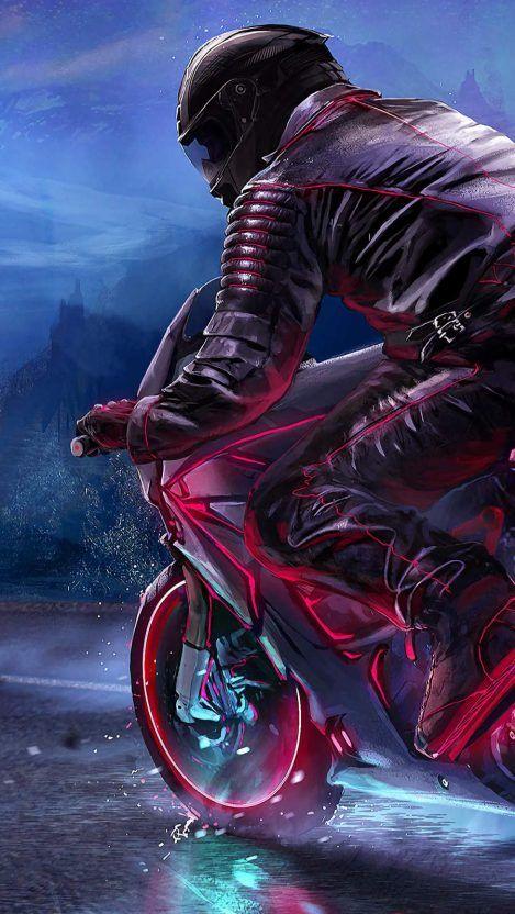 Bike Rider Iphone Wallpaper Iphone Wallpapers Bike Drawing Moto Wallpapers Bike Rider Bike mobile wallpapers mobile