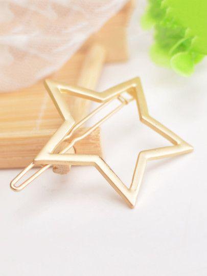 Star Design Hair Clips