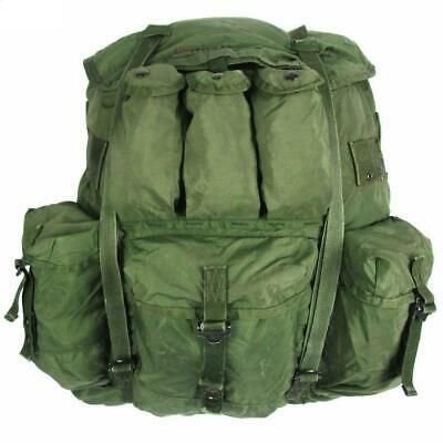 Us Military Alice Large Combat Field Pack With Frame Straps Belt Ebay In 2020 Military Backpack Military Bag Bags