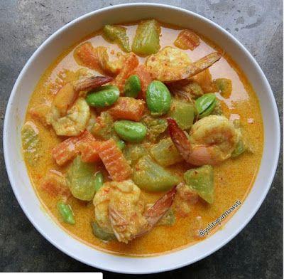 Sayur Lodeh Udang Dan Pete Makanan Dan Minuman Masakan Resep Makanan Sehat