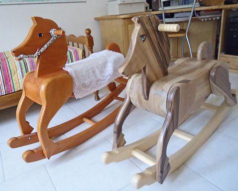 Cavallo A Dondolo Legno.Cavallo A Dondolo Fai Da Te In Legno Fai Da Te Legno Legno E