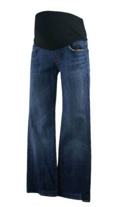 881c79b186002 Blue Citizens of Humanity Maternity Full Panel Boot Cut Maternity Jeans  (Gently Used - Size 28) - Motherhood Closet - Maternity Consignment