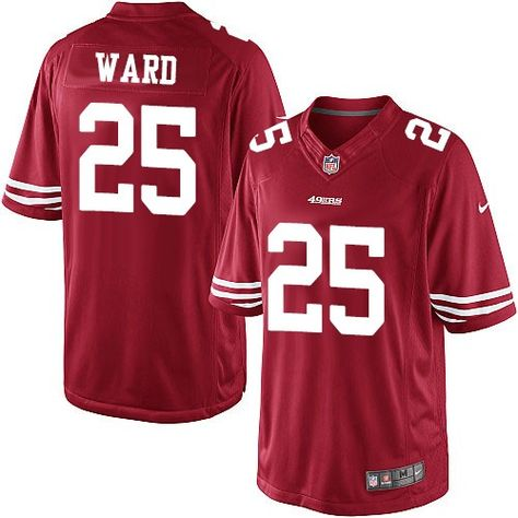 Men's San Francisco 49ers #25 Jimmie Ward Scarlet Red 70th Anniversary Patch Stitched NFL Nike Elite Jersey